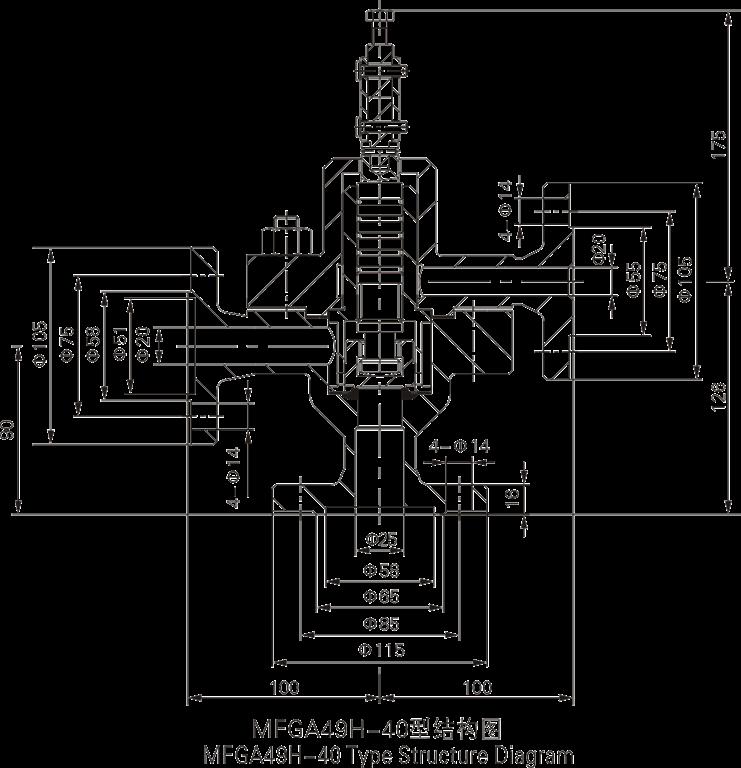mfga49h-40脉冲式安全阀图片